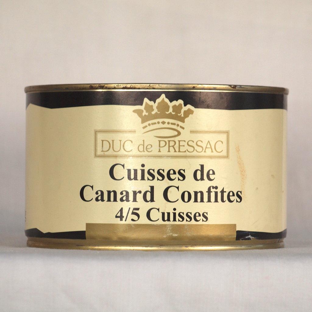 Cuisses de canard confites 4 5 cuisses picerie fran aise - Cuisiner des cuisses de canard confites ...